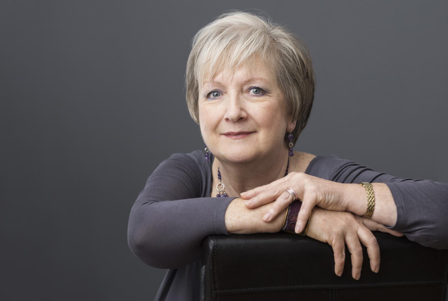 Catherine Dunne scrittrice - foto Noel Hillis