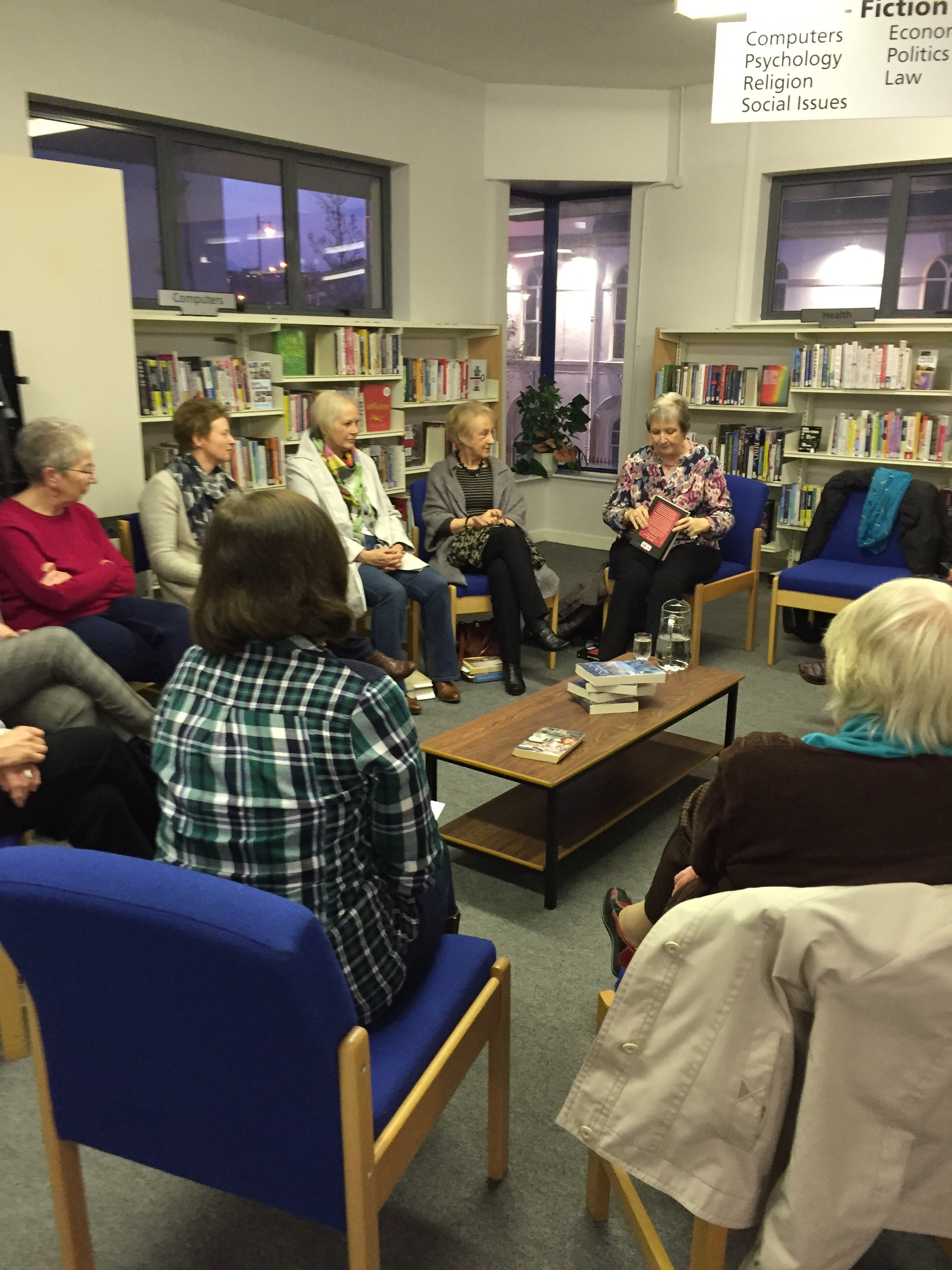 The Years that Followed / Un Terribile Amore - Nord Irlanda - Ballyclare Book Club 2 on 15 March 2016