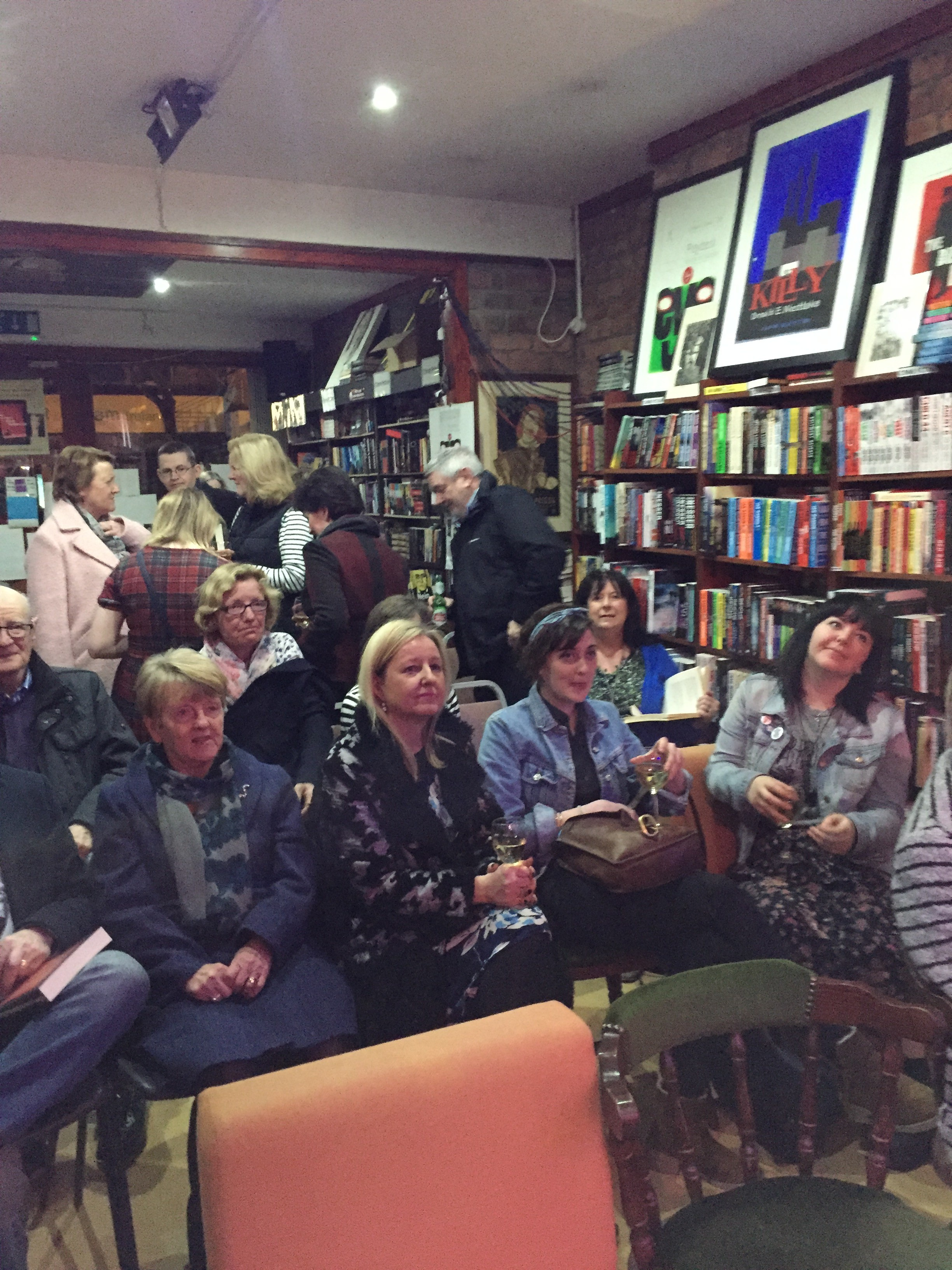 The Years that Followed / Un Terribile Amore - Nord Irlanda - Belfast Launch Audience 3